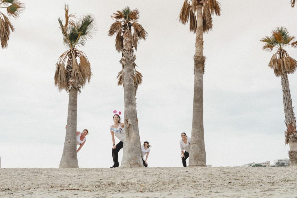 evjf sous les palmiers