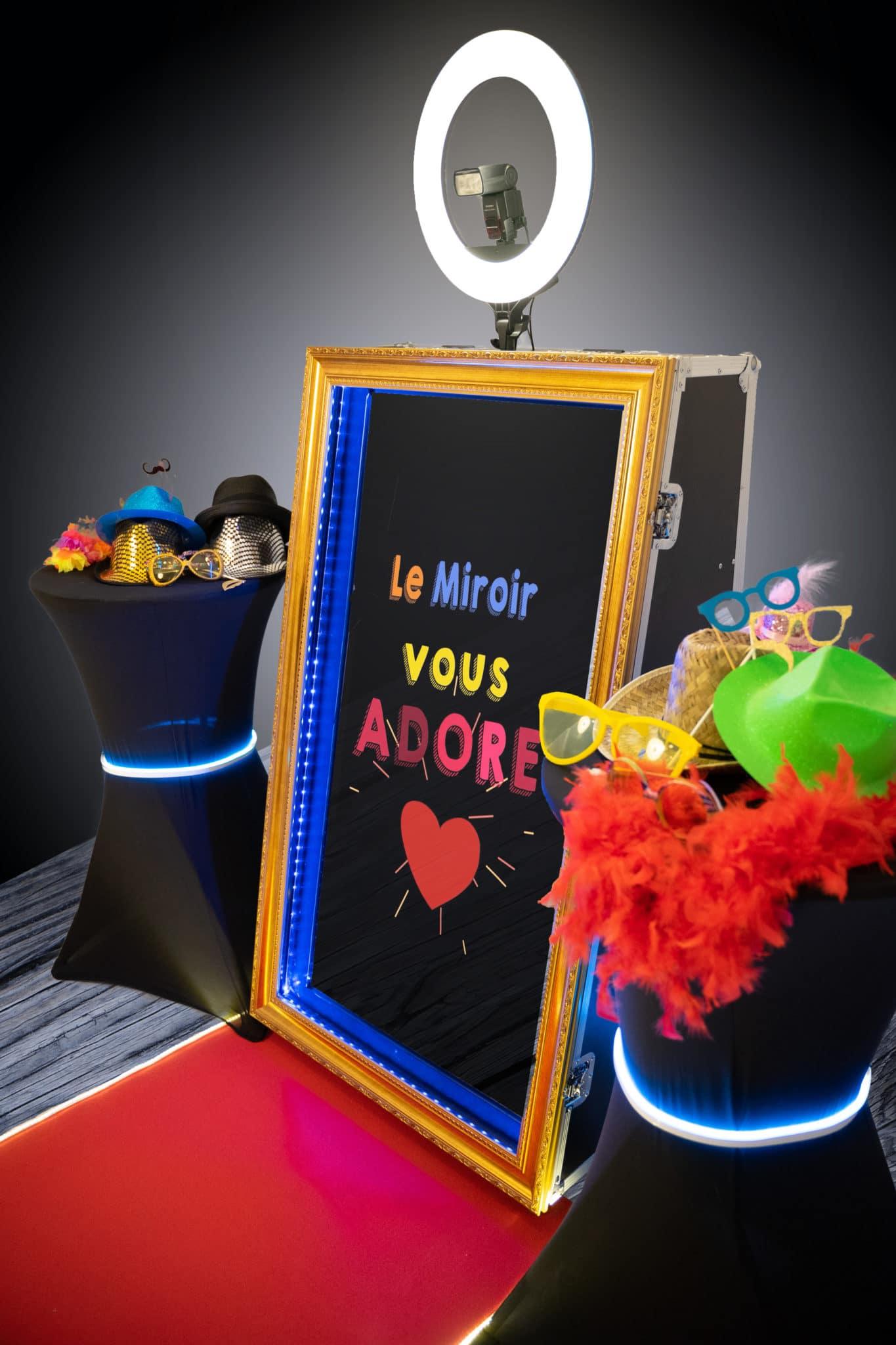 Miroir magic photobooth